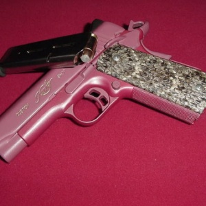 If pink is your thing, you're not limited to tiny guns!